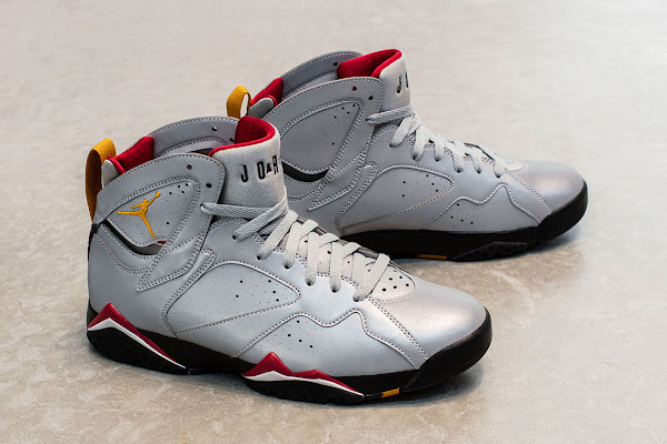 "new style 9e9c5 a7df8 The Air Jordan 7 ""Cardinal"" Returns With Reflective Uppers"