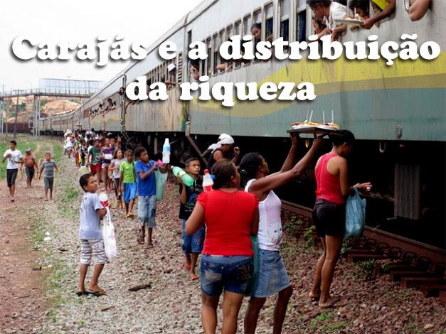 O trem de Carajás e a pobreza...