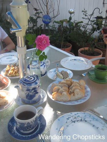 Afternoon Tea in the Garden with Portland from Glendora and Angel Face Roses 1