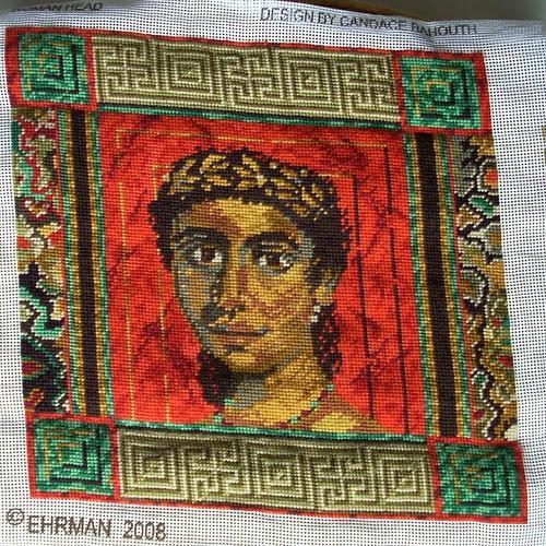 Roman head by Asplund