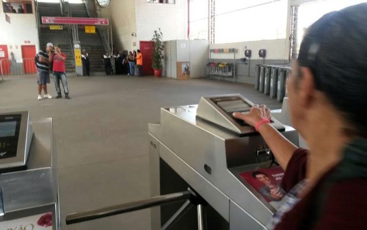 Estação Francisco Morato da CPTM, na Linha 7-Rubi foi reaberta por volta das 11h20 desta quinta-feira
