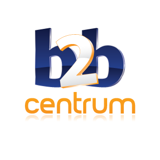 English: Logo B2B CENTRUM a.s. Česky: Logo B2B...
