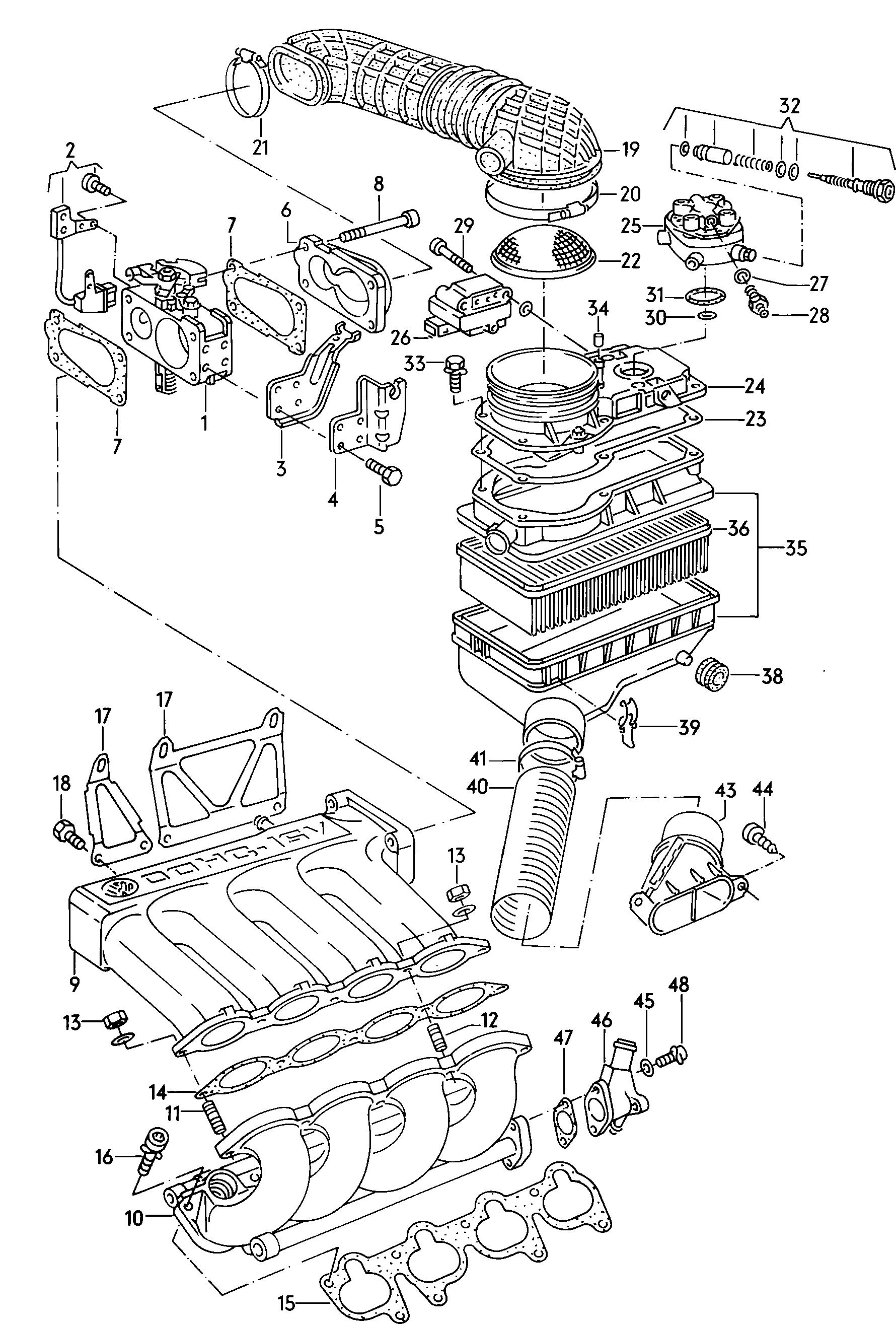 Vw Scirocco Europe 1988 Engine 4850 Catcar Info