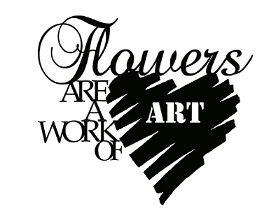 flowers are a work of art.139 x 114