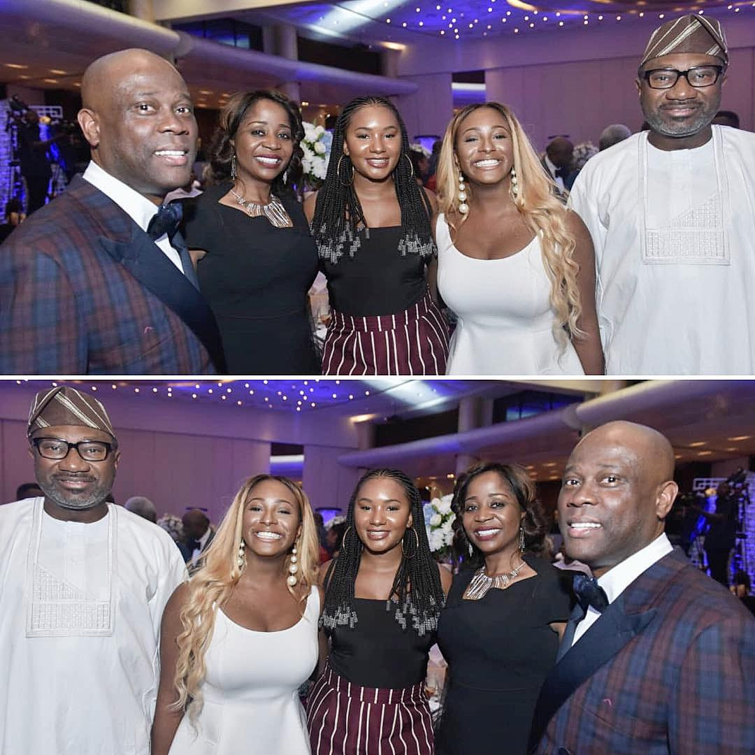 Femi Otedola, DJ Cuppy Meet Access Bank CEO (Photos)