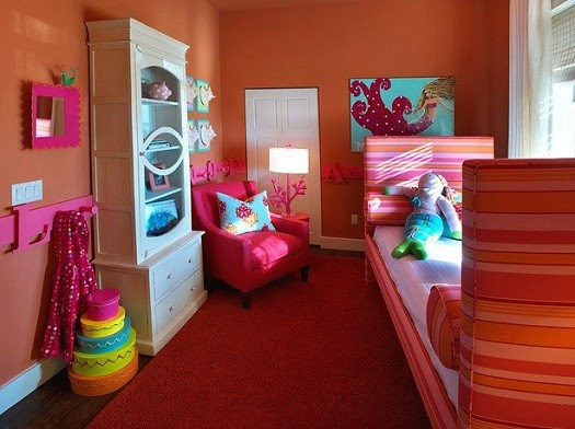 toddler girls bedroom ideas – unique Mermaid Bedroom