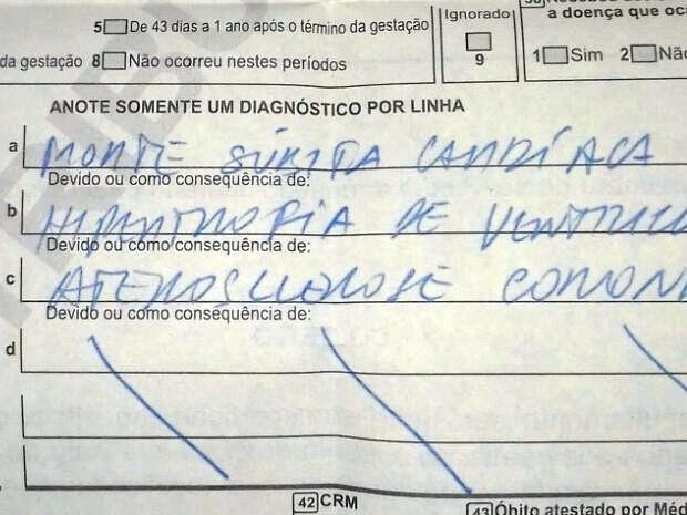 Laudo do IML de Caruaru aponta que idosa teve morte súbita cardíaca (Foto: Laiana Alves/Arquivo Pessoal)