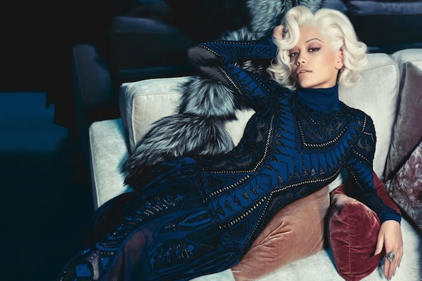 Rita Ora for Roberto Cavalli Fall : Winter 2014
