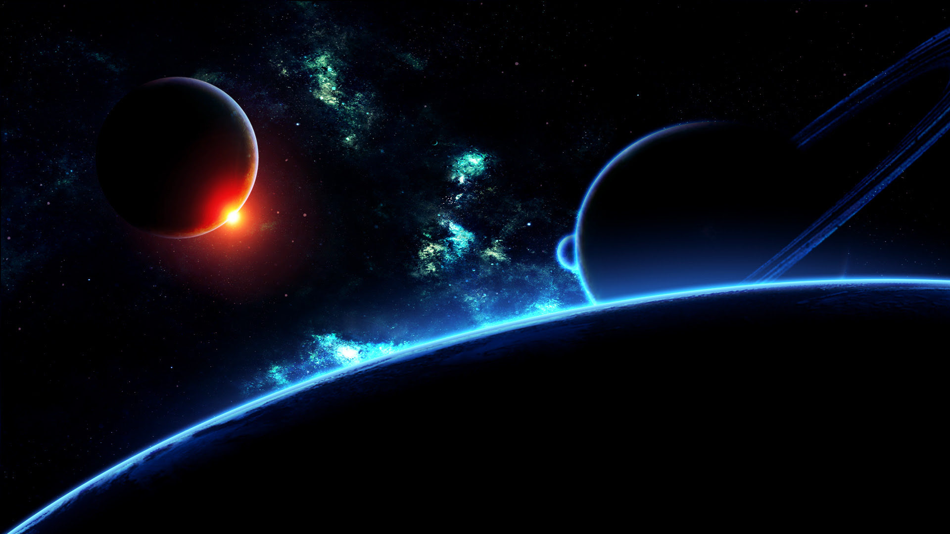 Deep Space Wallpaper Background