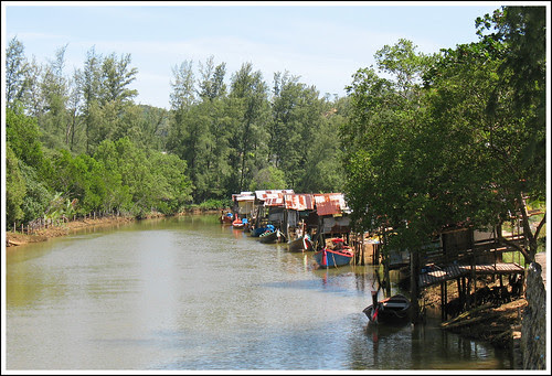 Waterway near Layan Beach