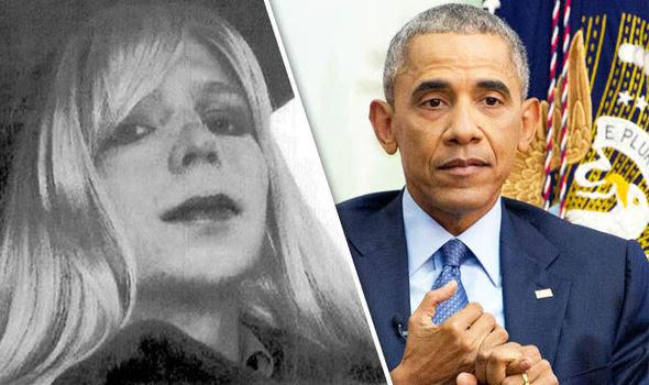 Image result for obama chelsea manning pardon