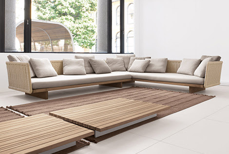 Outdoor Sectional Sofa - Sabi by Paola Lenti