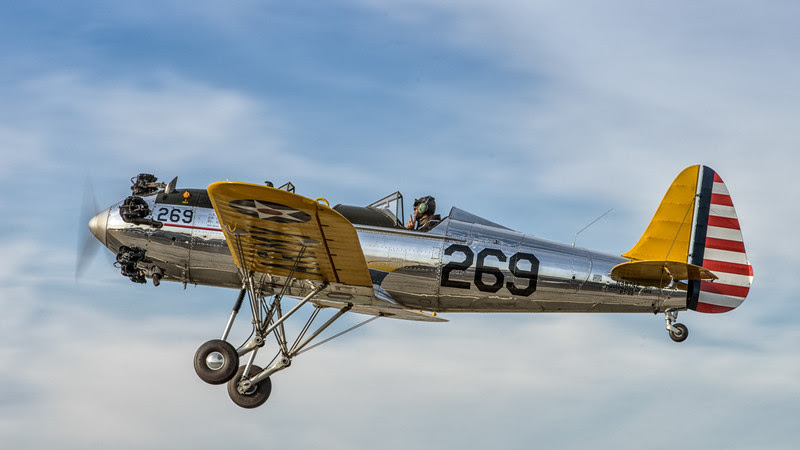 Ryan PT-22 Recruit taking off