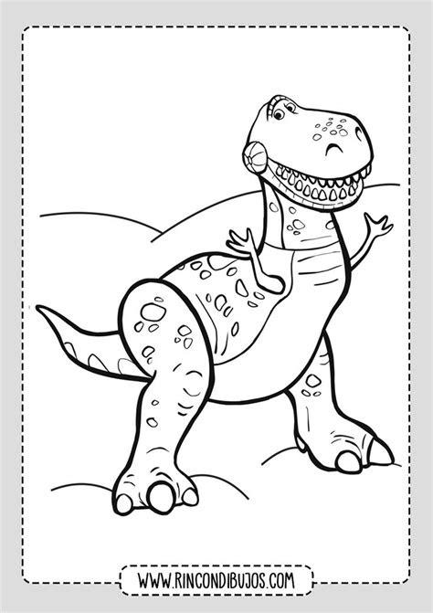dibujos toy story colorear dinosaurio rincon dibujos en