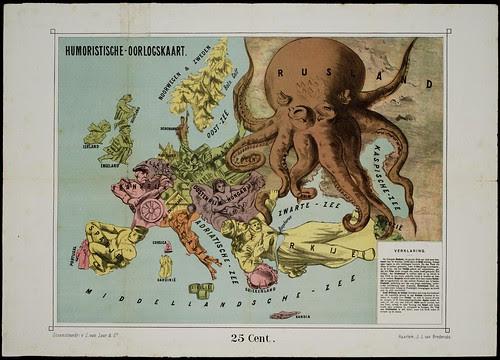Humoristische-oorlogskaart, 1870