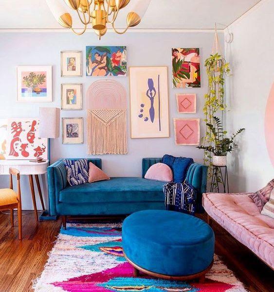 8 Inspiring Boho Wall Decor Ideas I 1000 Welcomes 1000welcomes