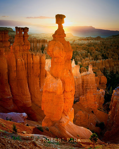 """""""First Light  Bryce Canyon National Park, Utah """"By Robert Park  http://www.robert-park.com by Robert Park Photography"""