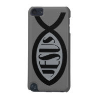 JESUS Christian Fish Symbol iPod Touch 5G Cases