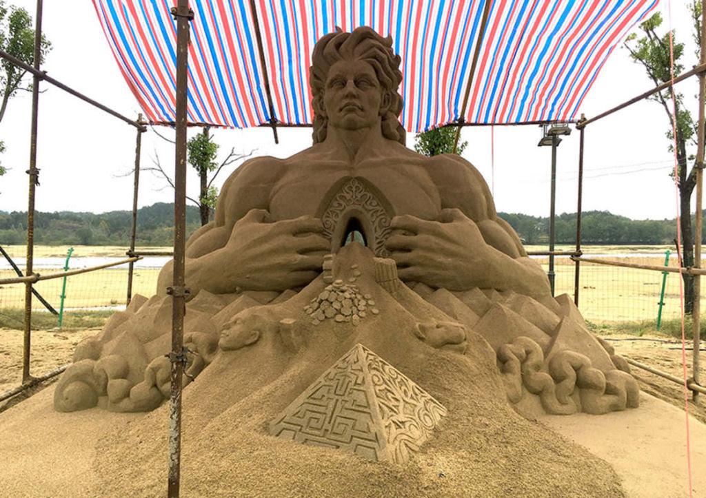 As extraordinárias esculturas de areia de Toshihiko Hosaka 27