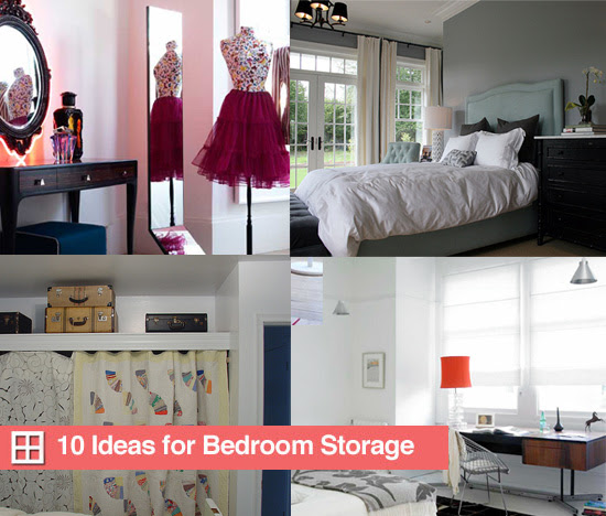 10 Ideas For Bedroom Storage