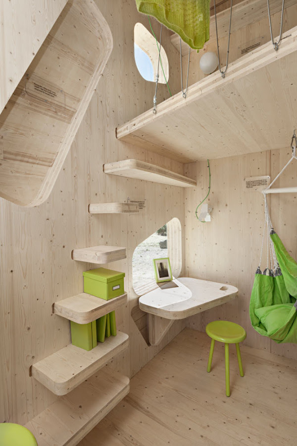 Eco Friendly Student Flat by Tengbom Architects in architecture  Category