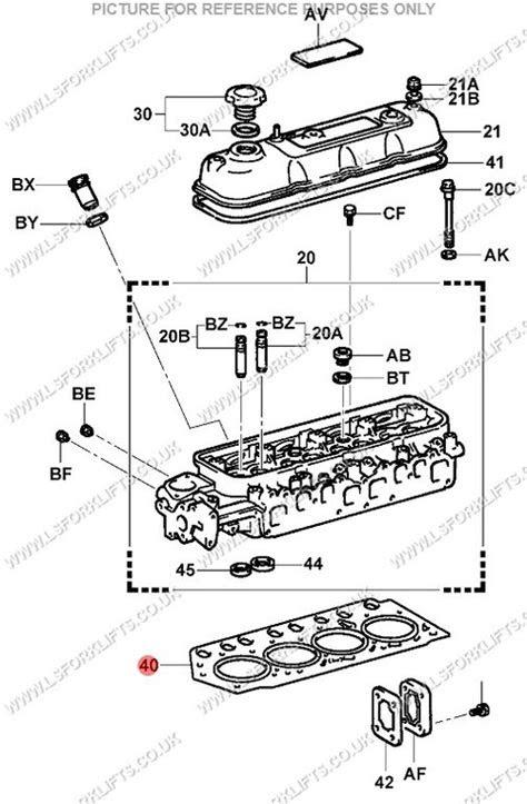 TOYOTA 4Y CYLINDER HEAD GASKET (LS4118) | Lsfork Lifts