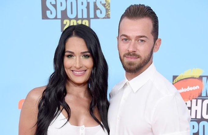 Nikki Bella and Artem Chigvintsev have revealed they are getting married in November