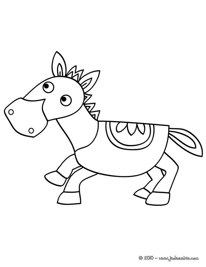 Coloriages Cheval Carrosse Az Coloriage