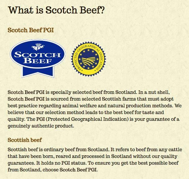 Scotch Beef