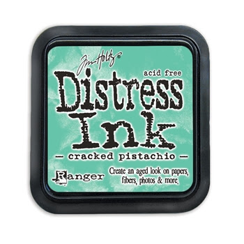 Tim Holtz Distress Ink Pad CRACKED PISTACHIO TIM43218