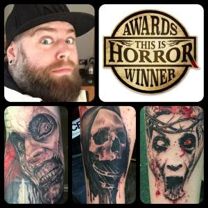 Ollie Tye This Is Horror Tattoo Artist of the Year