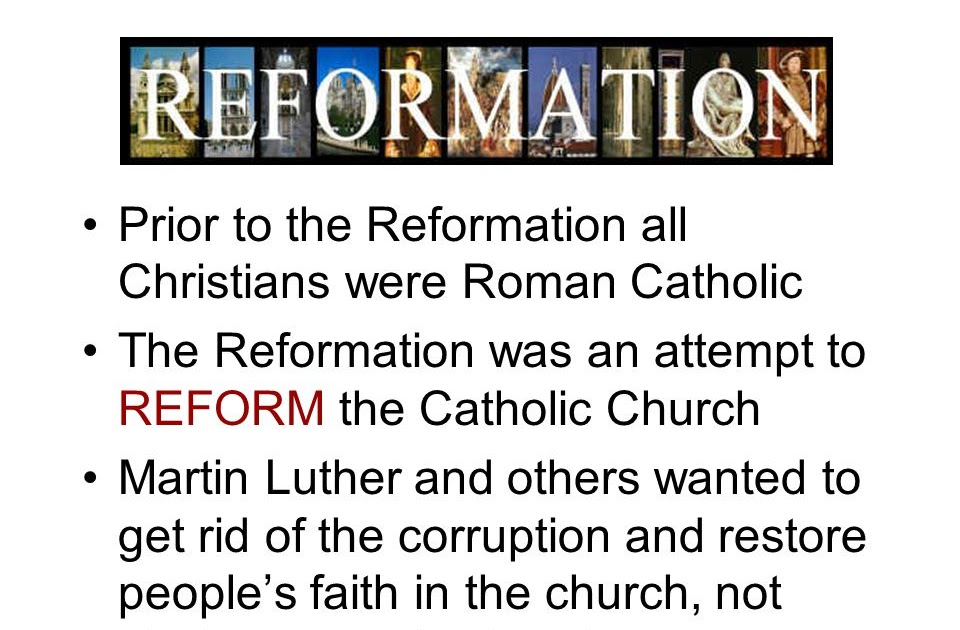 martin luther and his christian revolution against the catholic church The reformation was initiated by the revolutionary acts of the protestant monk and theologian, martin luther (november 10th 1483-february 18th 1546), who nailed his famous ninety-five theses on the doors of his village church in 1517, directly challenging the established authority of the roman catholic.