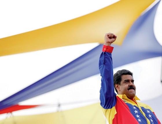 Nicolas Maduro presidente da Venezuela (Foto: Carlos Garcia Rawlins/Reuters)