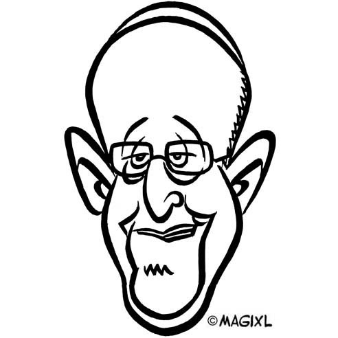 Image result for pope francis caricatures