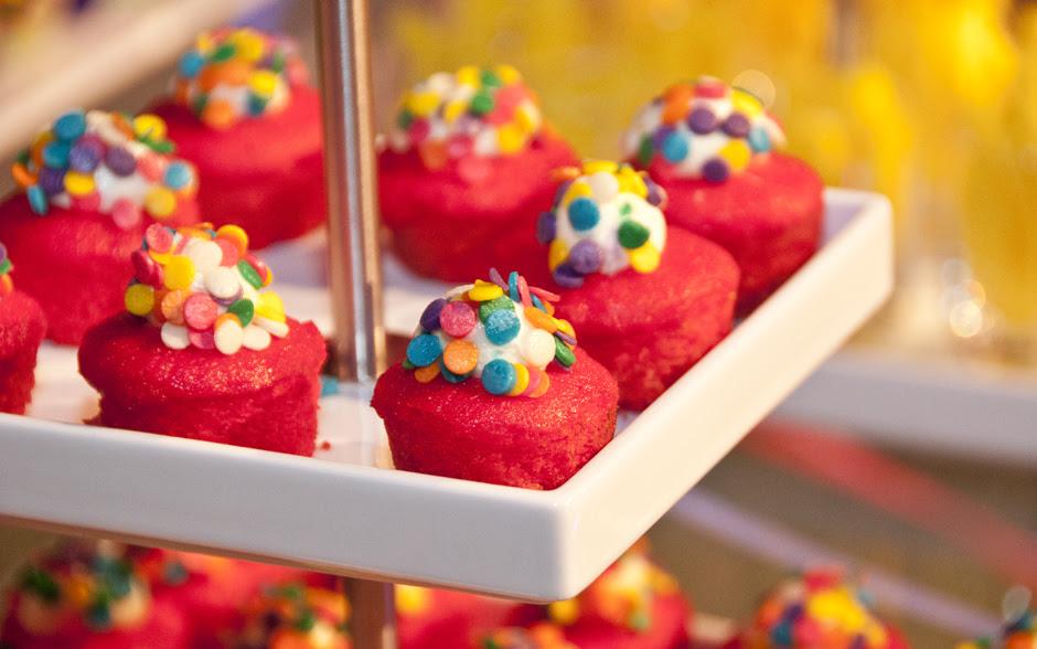 De sobremesa, deliciosos cupcakes pink velvet