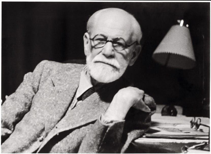 Sigmund Freud en su casa