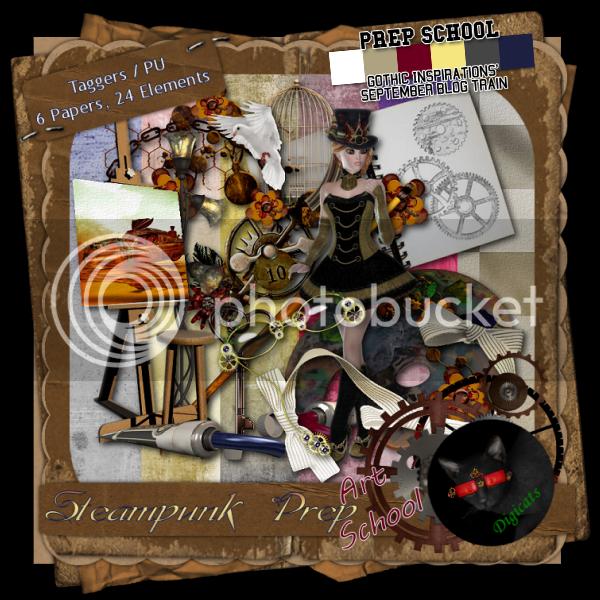 Steampunk Prep Art School