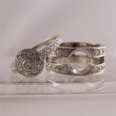 Slot To Fit Engagement & Wedding Rings   Ring Jewellery