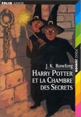Couverture Harry Potter, tome 2 : Harry Potter et la chambre des secrets