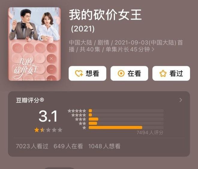 """Phim của Ngô Cẩn Ngôn gây sốc vì điểm Douban thấp tệ, Ngụy Anh Lạc diễn vẫn """"lên gân"""" còn gầy đáng báo động?"""