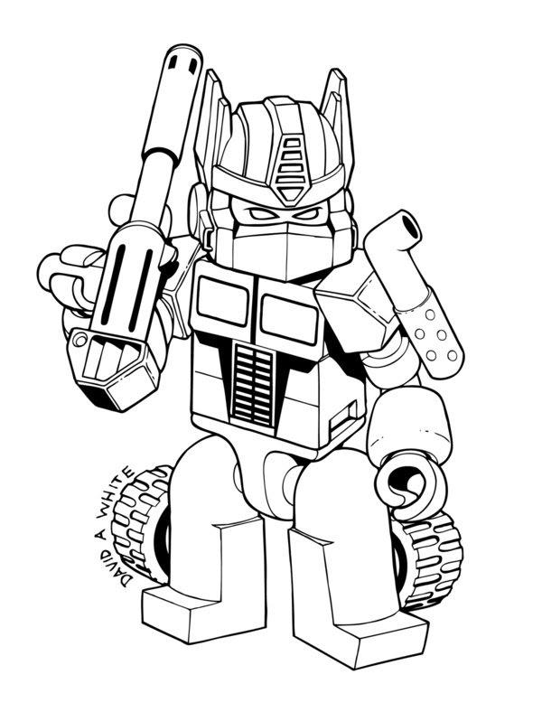Transformers Prime Megatron Coloring Pages Super Kins Author