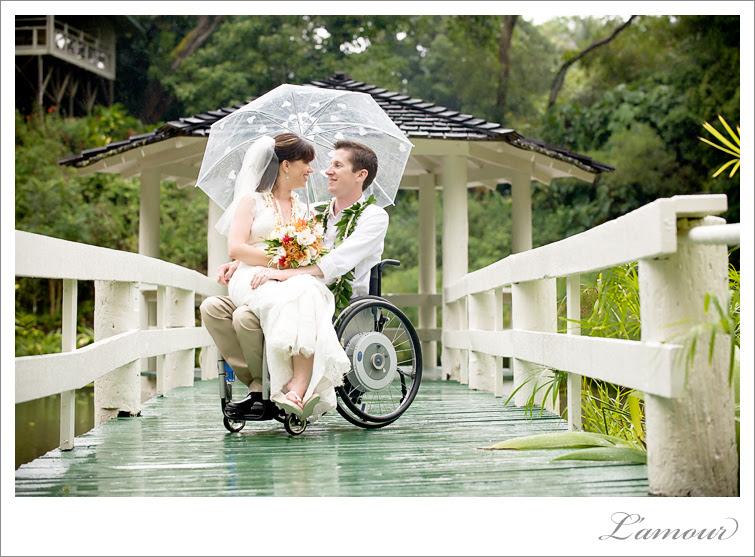 Noivo com deficiência
