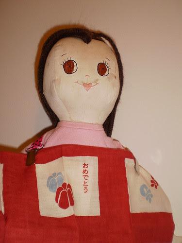 bib clips on doll