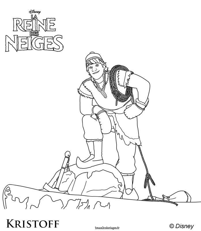 【50 ++】 Coloriages De La Reine Des Neiges