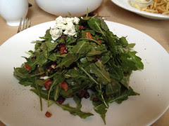 The Girl and the Fig - Fig and Arugula salad