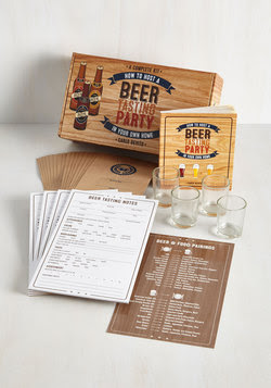 Gifts for Guys - How to Host a Beer Tasting Party Kit