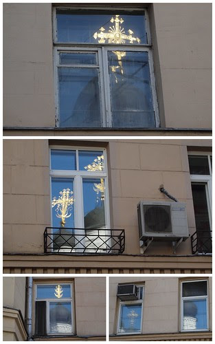 Living next to a church in Moscow
