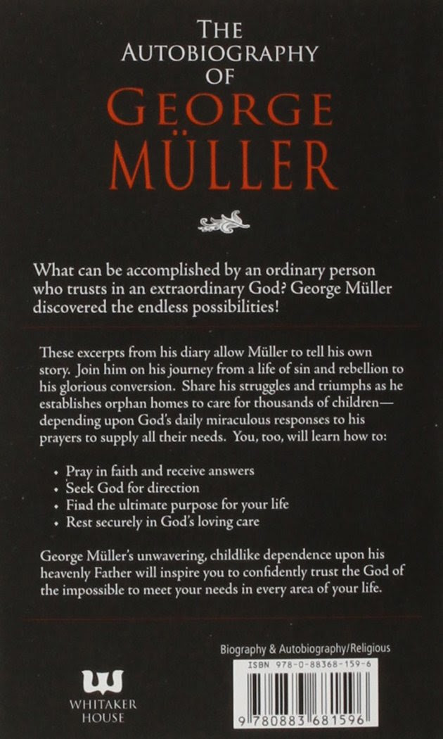 The Autobiography Of George Muller: George Muller: 9780883681596 ...