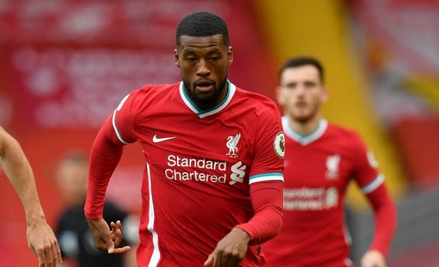Netherland attacking midfielder Gini Wijnaldum turns down new contract offer from Liverpool
