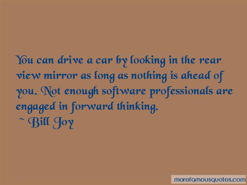 Quotes About Not Looking In The Rear View Mirror Top 3 Not Looking